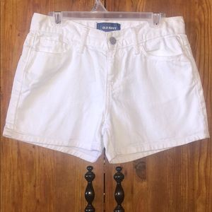 Old Navy White Girl Shorts
